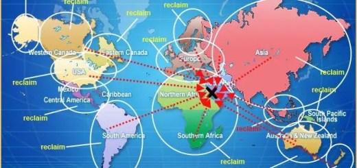 dominionist world map