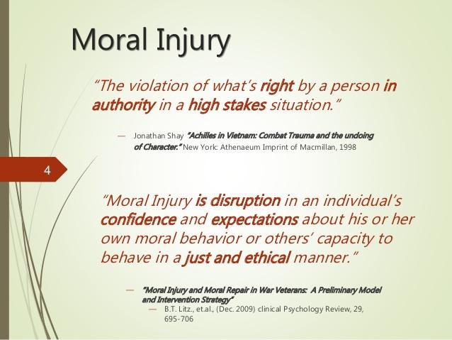 Moral Injury Another Defense Of Sin Discerning Life Hebrews 5 14