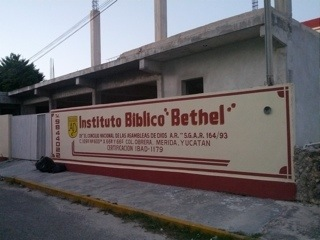 Bible school facade