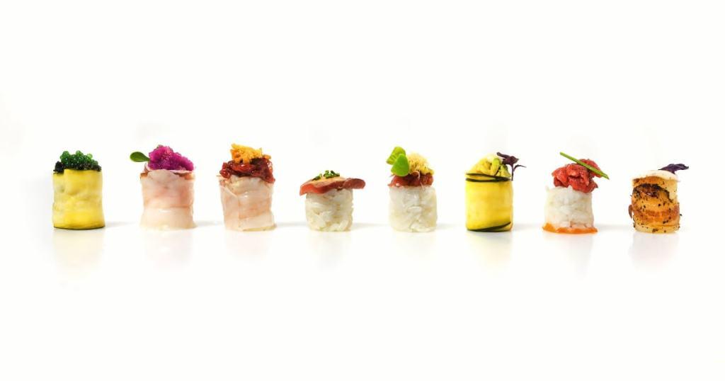 La varietà dei gunkan