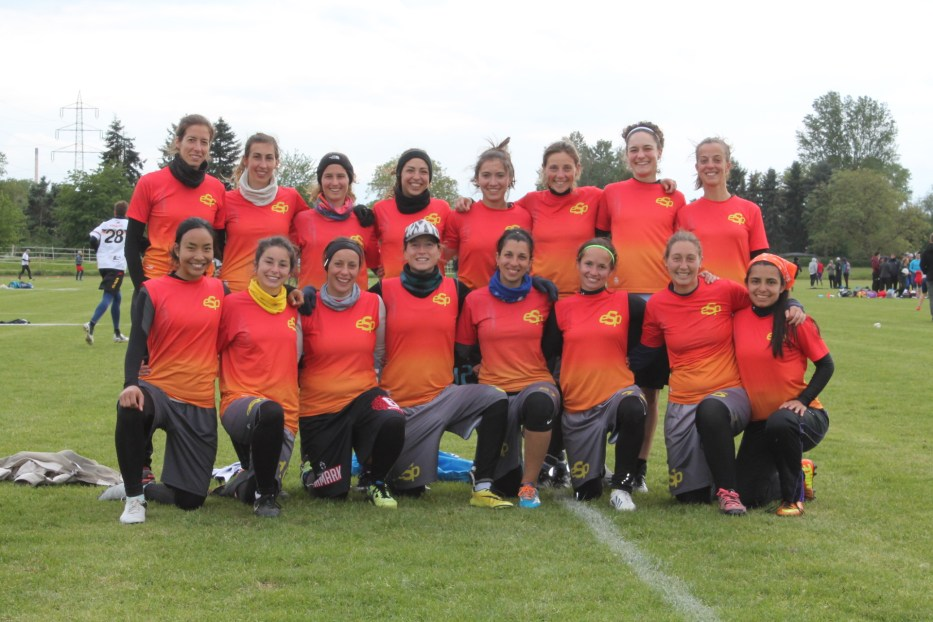 Selección Española Femenina - Frankfurt Mayo 2016 - Disckatus