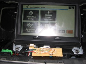 Sat Nav Touch Screen Converted for USB Connection  Car PC