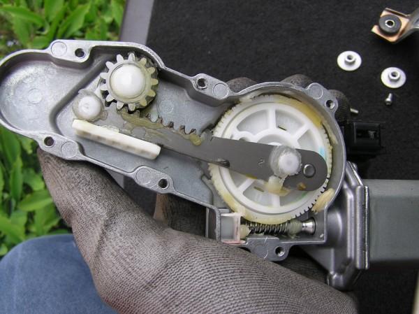 Rear Wiper Motor Change
