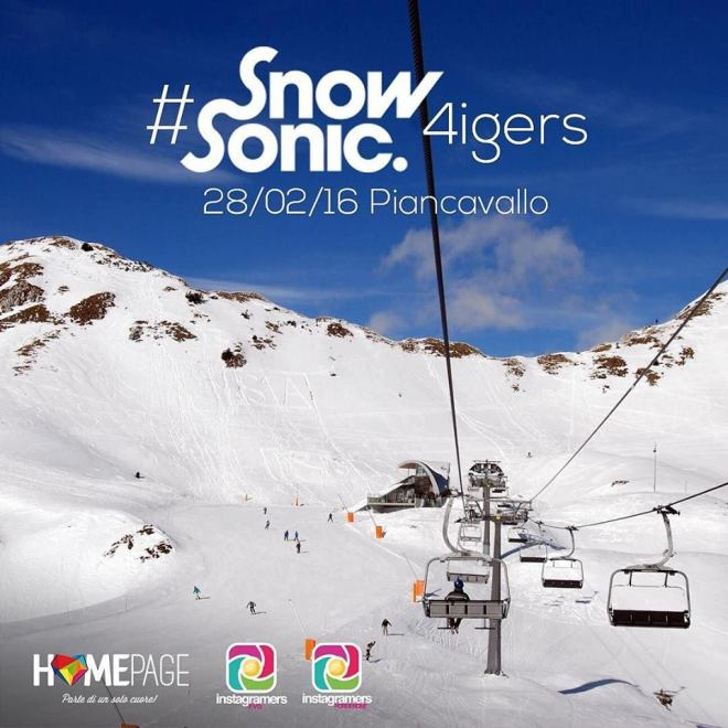 snow sonic homepage festival HOMEPAGE FESTIVAL SOSTIENE LO SNOW SONIC 2016