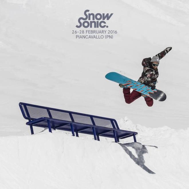 snow sonic snowboard HOMEPAGE FESTIVAL SOSTIENE LO SNOW SONIC 2016