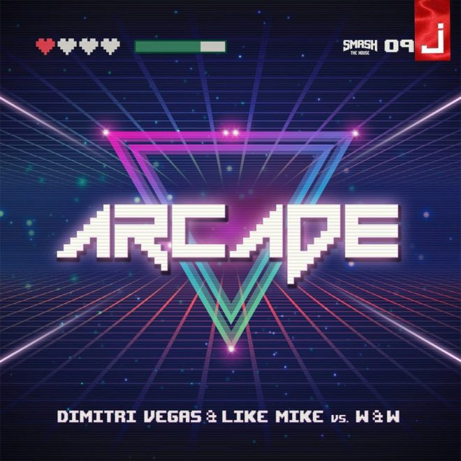 je fuga arcade 'Arcade'. Il nuovo singolo di Dimitri Vegas & Like Mike vs W&W. Disponibile in formato digitale