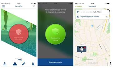 image005 Arriva securGO, la nuova app per la sicurezza personale di tutti