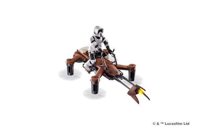 1. 74 z speeder bike propel battle drones star wars l I droni ufficiali di Star Wars, un prodotto che stupirà tutti gli appassionati in questo Natale 2016.