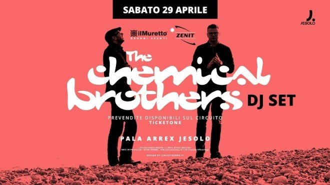 the chemical brothers art THE CHEMICAL BROTHERS   Le superstar della consolle straordinariamente live al Pala Arrex di Jesolo