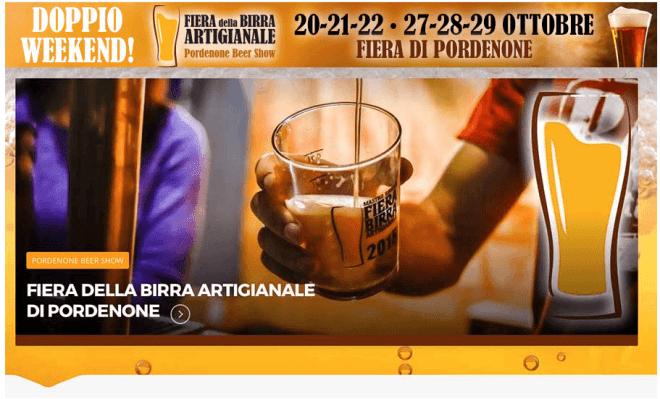 evento friuli schermata 2017 10 06 alle 11.55.06 20 21 22 / 27 28 29 Ottobre   Tutto pronto per la Fiera della Birra Artigianale di Pordenone