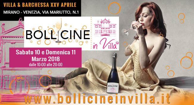 10/11 marzo 2018 Bollicine in Villa