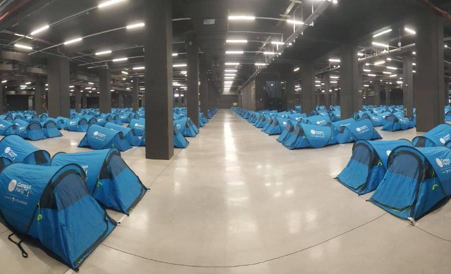 Campus Party: grande geek camping con quattro party esclusivi