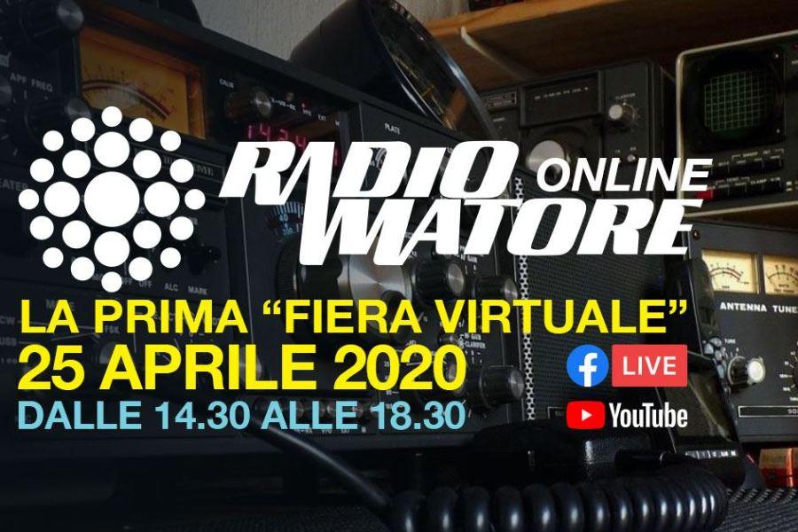 Fiera Nazionale del Radioamatore hi-fi car diventa virtuale: 25 aprile 2020 i radioamatori si incontrano online.