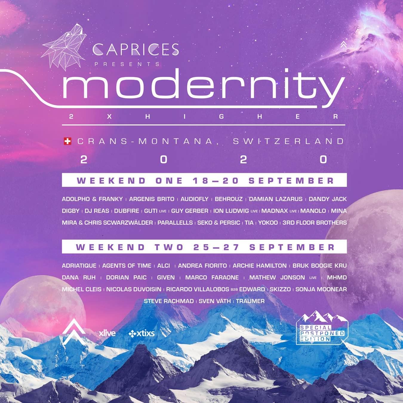 evento friuli caprices 2020 flyer Caprices festival e la line up dell'edizione 2020
