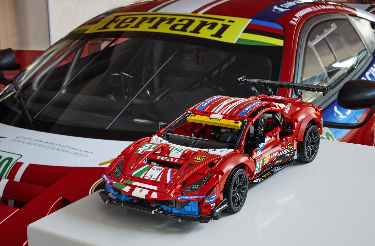 evento friuli 42125 technic carbycar 01 Il Gruppo LEGO e Ferrari insieme per un imperdibile torneo