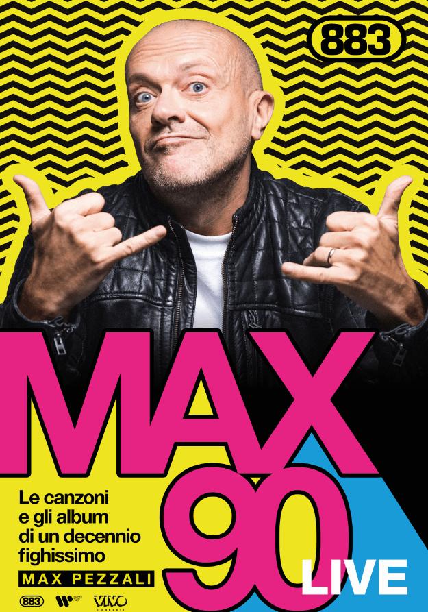 evento friuli max pezzali art MAX PEZZALI   Lidolo del pop italiano celebra i successi degli 883 in un doppio concerto a Palmanova