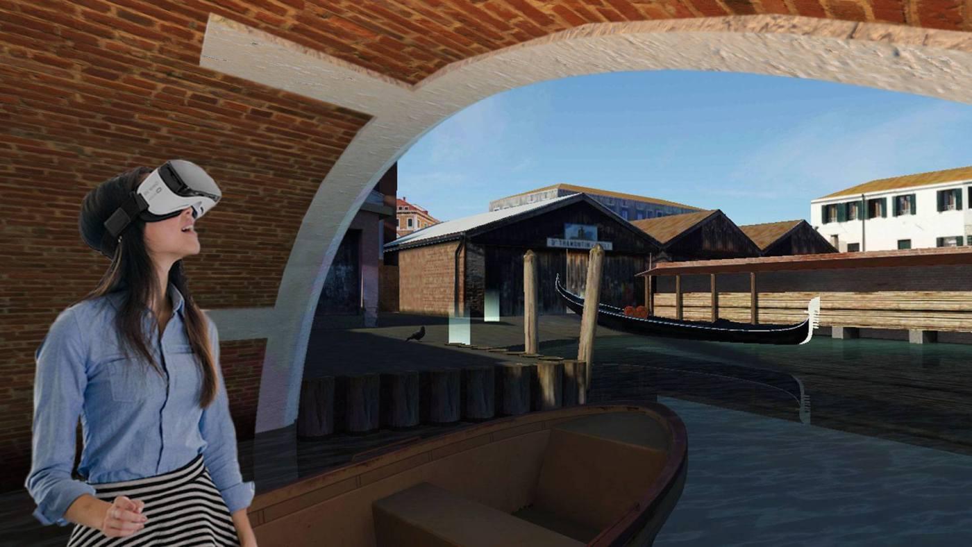 evento friuli un viaggio nel passato di venezia a costruire gondole grazie alla realta virtuale esterno squero 1400x788 Un viaggio nel passato di Venezia a costruire gondole grazie alla Realtà Virtuale