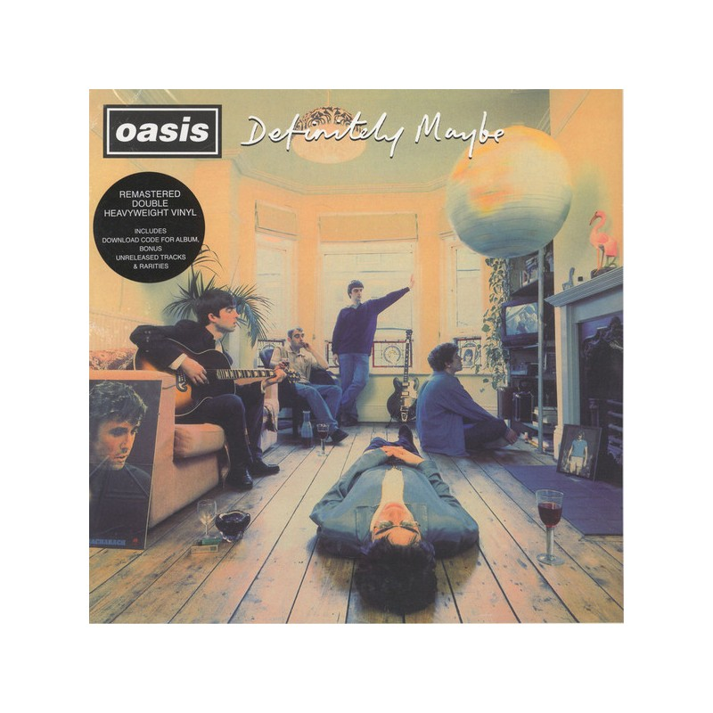 Vinyl Oasis. Definitely Maybe album double lp alternative Grunge Rock