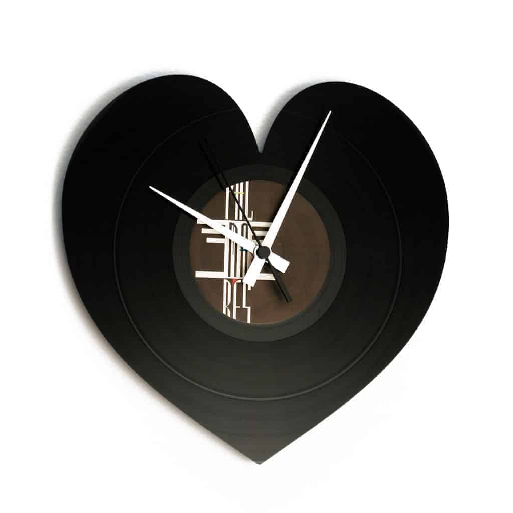 heart shaped clock archives
