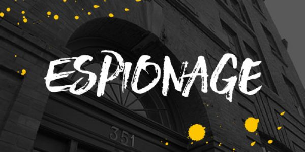 Escapism Chester – Espionage