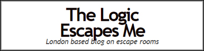 The Logic Escapes Me Logo