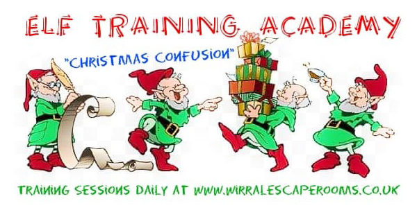 Wirral Escape Rooms – Christmas Confusion