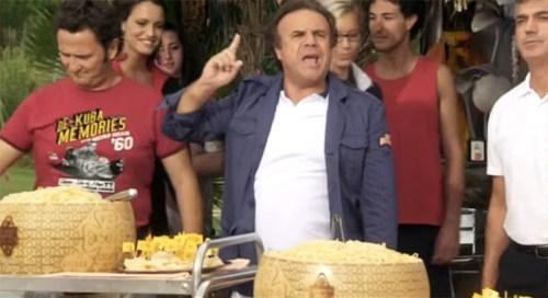 Jerry Calà - Operazione vacanze - Il terribile product placement del Grana padano