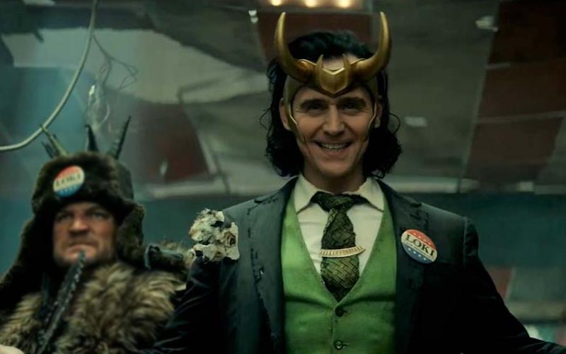 Una scena dal trailer di Loki