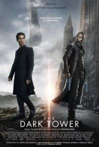 La locandina del film The dark tower, tratto dai libri de La torre nera