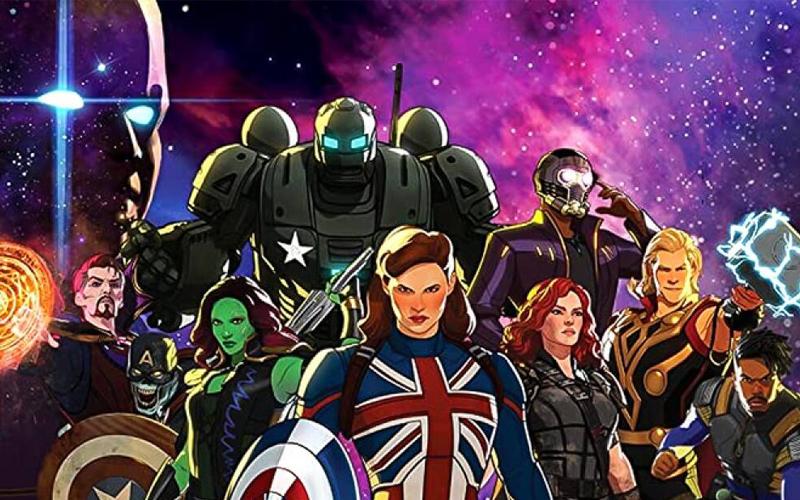 Il cast della serie Marvel What if...?