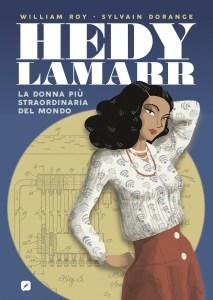 La copertina di Hedy Lamarr fumetto Edizioni Bd