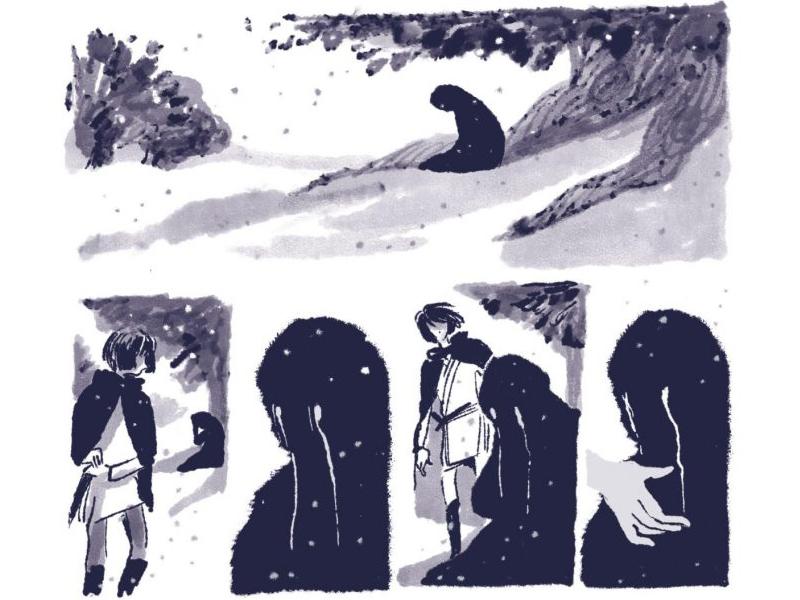 Alcune vignette de Il Mare verticale