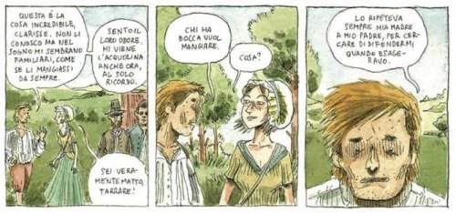 Dialogo tra Tarrare e Clarisse