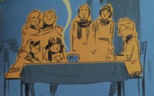 Anne Frank e gli altri personaggi