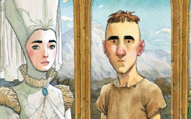 Aldobrando con la principessa