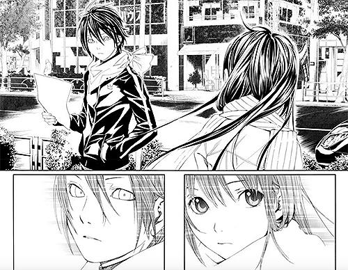 Yato e Hiyori, protagonisti di Noragami