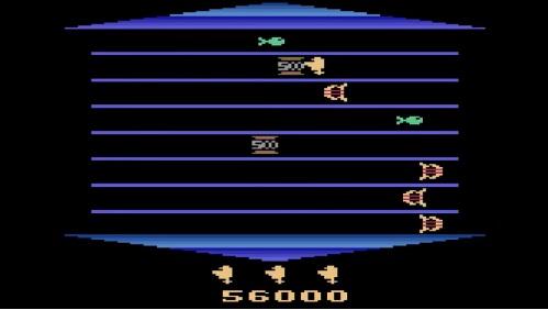 schermata di gioco di Asterix
