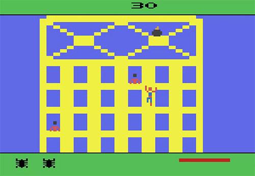 Tra i videogiochi tratti dai fumetti anni 80 non poteva mancare lo Spider-man per Atari 2600