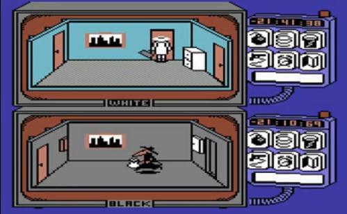 Schermata di gioco di Spy vs. Spy