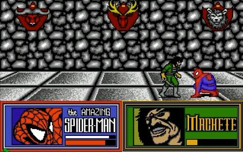 Captain America Spider-Man Amiga