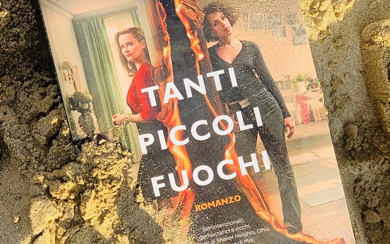 Tanti Piccoli fuochi di Celeste NG è il libro recensito oggi da Silvia Liotta, autrice di questa composizione