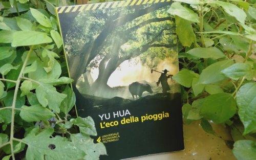 """Copertina del romanzo """"L'eco della pioggia"""" di Yu Hua"""
