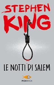 La copertina di Le notti di Salem, secondo romanzo di Stephen King datato 1975