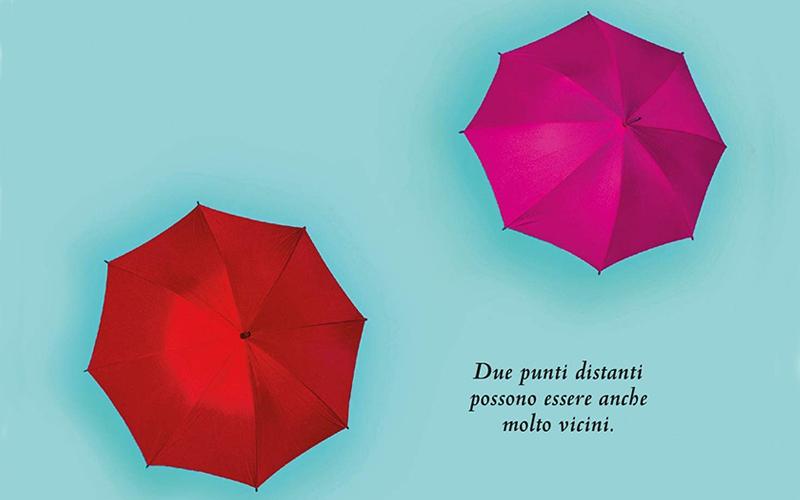 Un dettaglio della copertina di La giusta distanza, diSara Rattaro