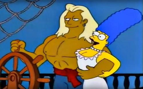 Neppure i Simpson si sono tirati fuori dal parodiare le tipiche atmosfere e stereotipi dei romanzi rosa