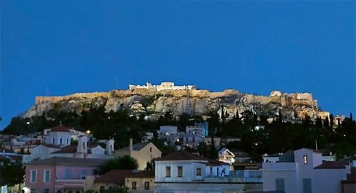 Teatro antico nei pressi dell'Acropoli di Atene
