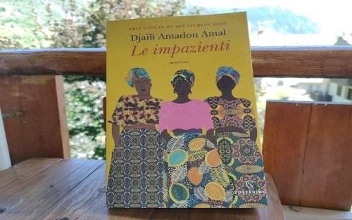 La copertina del romanzo di Djailli Amadou Amal, Le impazienti