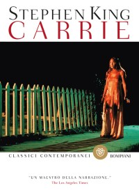 La copertina di Carrie, il primo libro di Stephen King