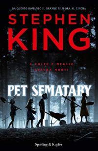 La copertina del romanzo Pet Sematary