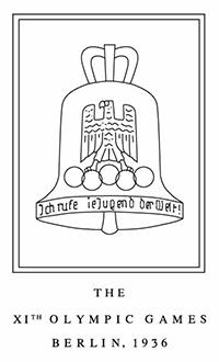 Il logo delle Olimpiadi di Berlino del 1936